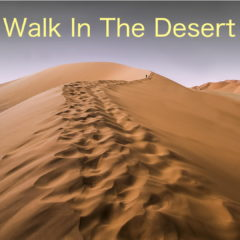 WALK IN THE DESERT